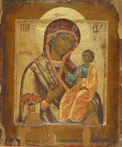 Virgen de Iverskaya, Museo de Iconos, Casa Grande, Torrejón de Ardoz